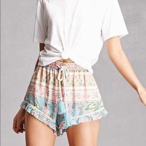 NWOT - Z&L Europe - Bohemian Style Shorts!!